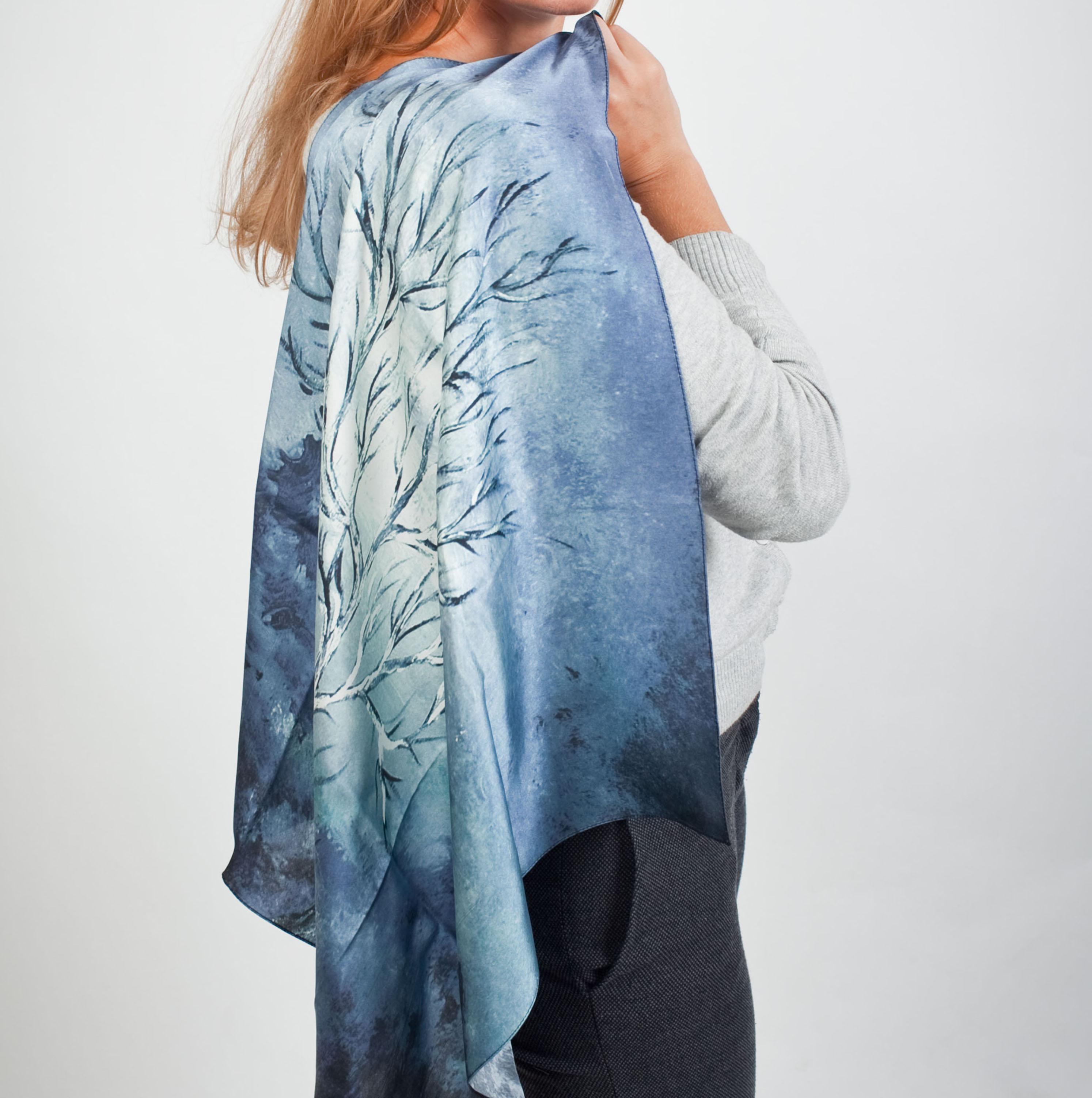 Что сшить ткани из шелка